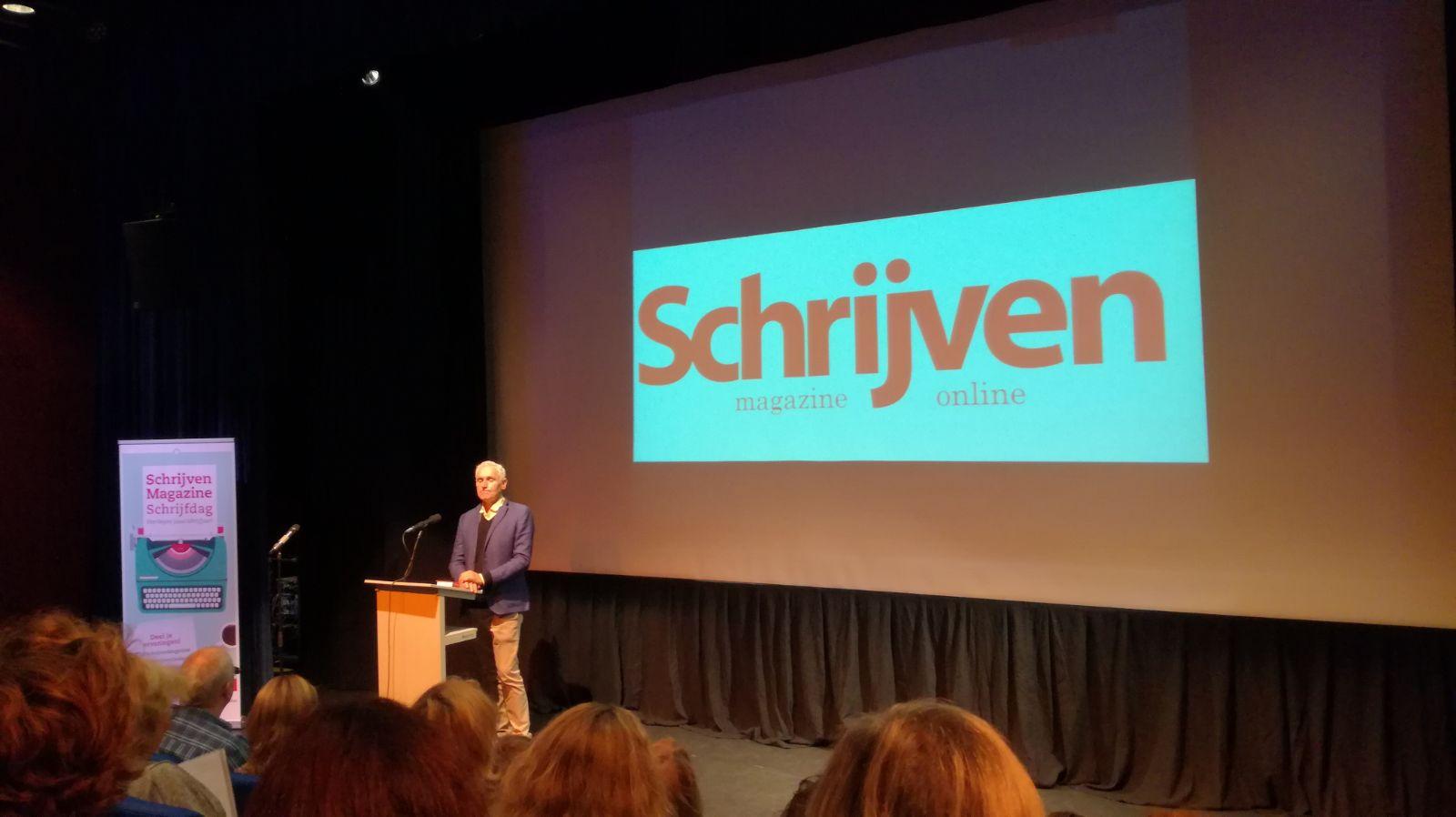 Schrijven Magazine Schrijfdag 2017 Arthur Japin